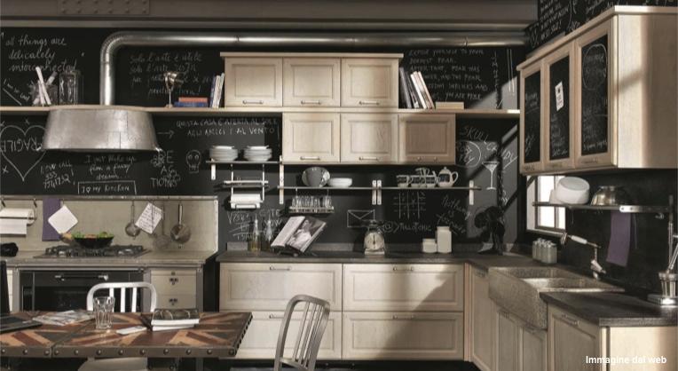 Idee Per Arredare Una Cucina Vintage | Deca Mobili Arredamenti