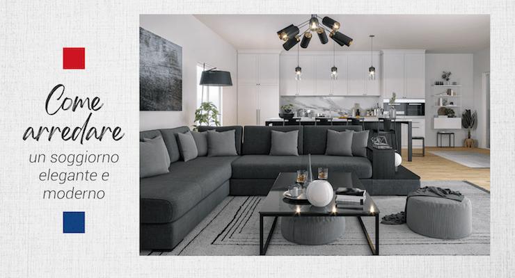 Come arredare un soggiorno moderno ed elegante