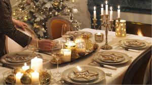 Arredo tavola Natale