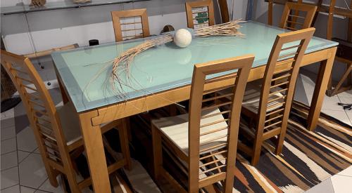Tavolo e Sedie Ciliegio Europeo
