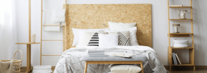 Camera da letto monocromatica