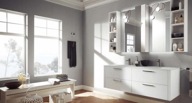 5 idee di arredamento per un bagno super moderno e funzionale